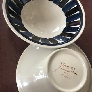 スープボール 平皿 4組  美品