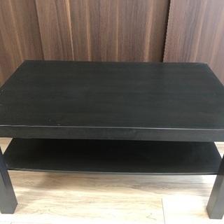 IKEA コーヒーテーブル 黒