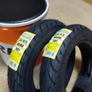 新品タイヤ  原付 スクーター タイヤ 2本 3.00-10