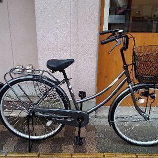 Active Style 26吋ファミリーサイクル シングル/ガンメタ