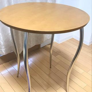 ダイニングテーブルセット!丸テーブル