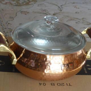 純銅鍋 未使用品