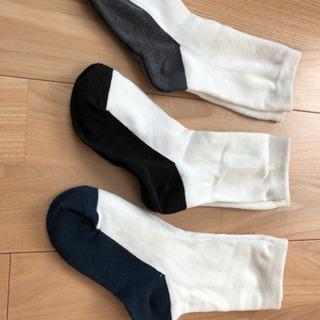 未使用!!白靴下、白ソックス、スクールソックス¨̮