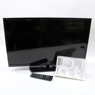 引取限定 シャープ アクオス 液晶テレビ 32V型ワイド 動作O...