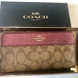 コーチ 財布 新品 箱付き