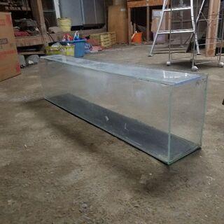 120スリム水槽。ガラス。