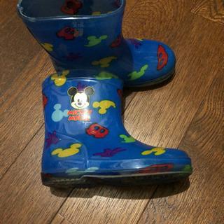ミッキーマウス長靴