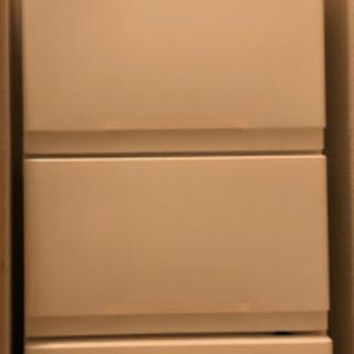 白収納ケース 4段ラック