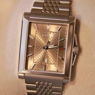 【美品】GUCCI Gタイムレス YA138402 腕時計 ベージュ