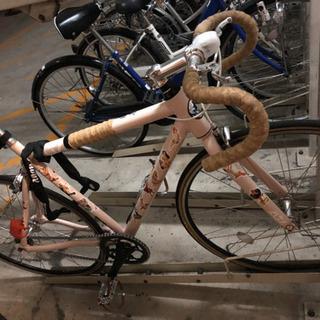 ピストバイク +いまなら輪行袋とフロント用ライト付けます