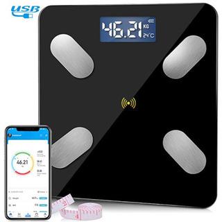 1点限り❗️【新品・未使用】Bluetooth体重計 体脂肪計 ...