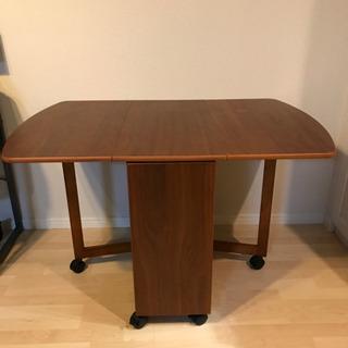 ダイニングテーブル バタフライ型