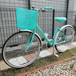 自転車 女の子用24インチ