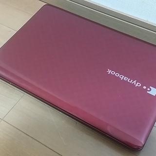 【人気のレッド きれい】ブルーレイ Core i5搭載 東芝ノー...