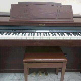 電子ピアノ Roland ローランド HP305GP 2011製...