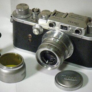 フィルム カメラ NiccaⅢ-S型(1952年,昭和27年) ...