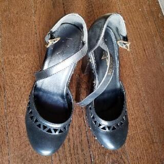 中古レディース靴黒