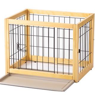 犬猫用木製ケージ新品同様 3日間のみ❕使用品の画像
