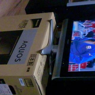 シャープアクオス亀山モデル26インチ液晶地デジテレビ09年製美品レベル