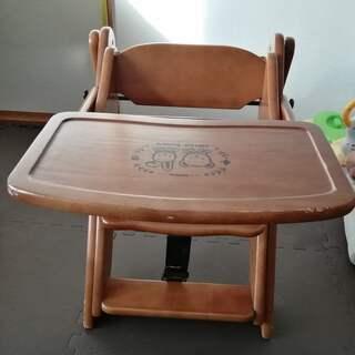 【最終値下げ】HELLO DIARY ベビーチェア 木製 折りた...