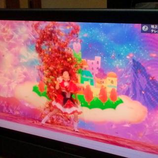 シャープアクオス42インチ液晶地デジテレビ07年製良品