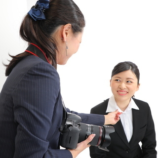 三宮写真室の就活応援プラン☆メイク付き就活証明写真撮影のお知らせ♪