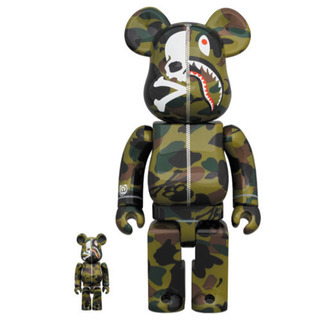 MM VS BAPE BE@RBRICK 100% & 400%...