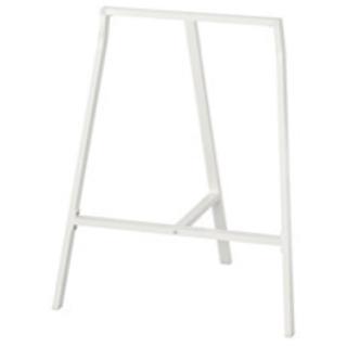 IKEA 架台 ホワイト 70×60cm 天板を乗せてデスクに♪