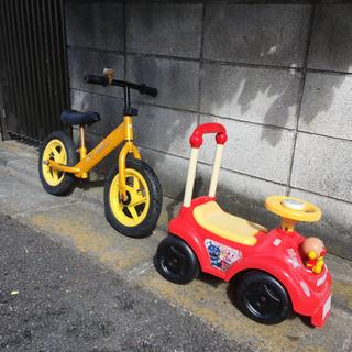 バランスバイク アンパンマン車