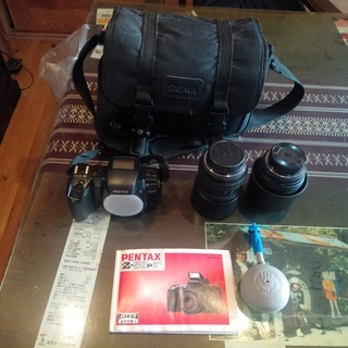 フイルム式一眼レフカメラをお譲りします