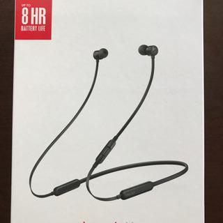 BeatsX ワイヤレスイヤホン(ブラック)