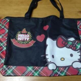 キティちゃんの大型バッグ。無料。