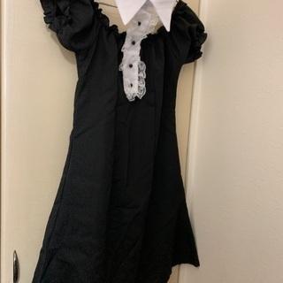 ハロウィン コスプレワンピース 黒ネコ、差し上げます!