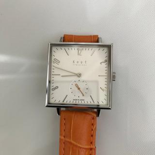 電池切れの純日本製腕時計