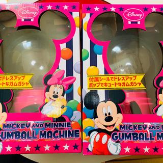 新品Disney ミッキーのガムボールガチャマシン!