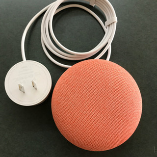Google Home mini 【ほぼ新品】