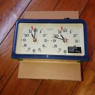 碁盤・碁石・時計