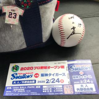 2/24 ヤクルトスワローズVS阪神タイガース