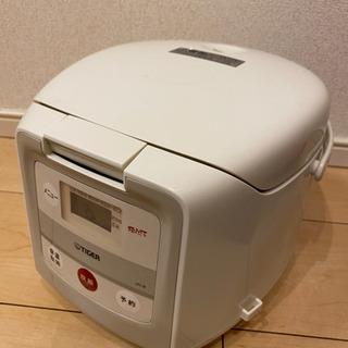 【ジャンク】炊飯器(TIGER JAI-B550)