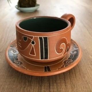 メキシコ コーヒーカップ&ソーサー