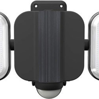 新品◇ムサシ/LED-AC2016 フリーアーム式LEDセンサーライト 8W×2灯 コンセント式 防雨型 ◇  - 札幌市