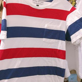 ★元値3500円★ボーダー★半袖★赤★白★青★Tシャツ★メンズ★...