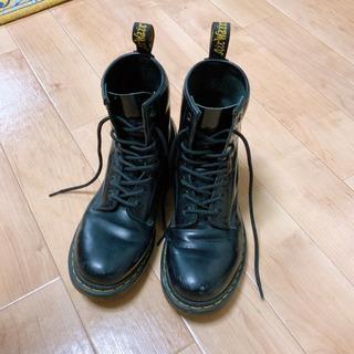 ドクターマーチン 8ホール ブーツ 24cm