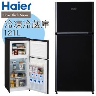 【3/1終了】使用期間半年 Haier 121L 冷凍冷蔵庫