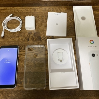 Pixel 3a XL 64GB Clearly White (中古)