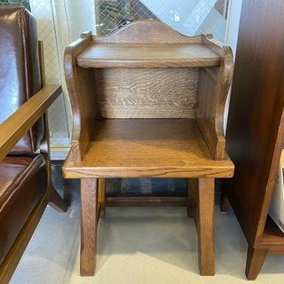 サイドテーブル ナイトテーブル ブラウン ヴィンテージ 中古品