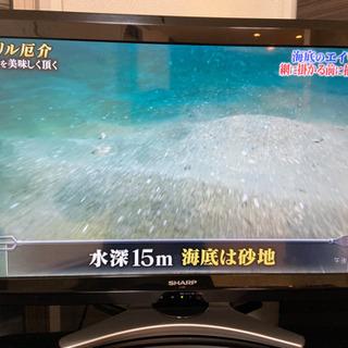 至急!無料!32型テレビ+テレビ台 2010年製AQUOS