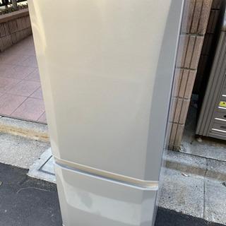 b111《安心の日本製!》2017年製三菱2ドア冷凍冷蔵庫146L