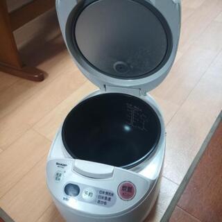 シャープ 炊飯器 KS-F105-W 2005年製 5合炊き - 甲賀市