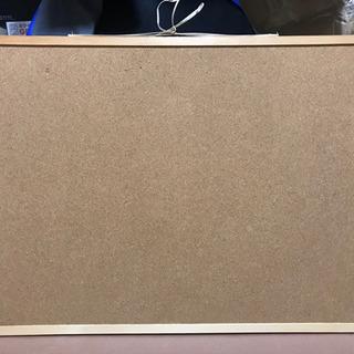(あげます)ナカバヤシ コルクボード 90x60cm